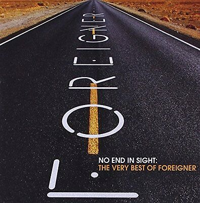 USED (VG) No End in Sight: The Very Best of Foreigner (2008) (Audio CD)