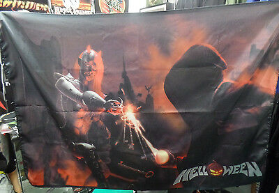HELLOWEEN Keeper of the Seven Keys Legacy FLAG CLOTH POSTER TAPESTRY BANNER CD