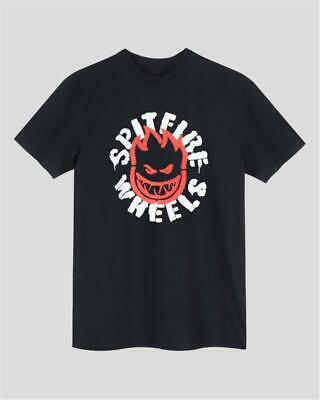Spitfire Wheels Flammable Material | T-Shirt | black | Skateboard Skate | S - XL