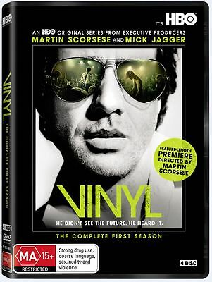 Vinyl: Complete HBO TV Series First Season 1 Box / DVD Set NEW!
