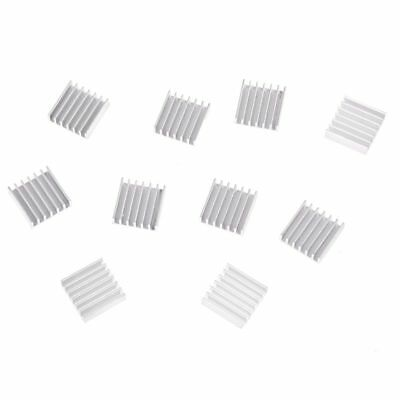 10 Pcs 20mm x 20mm x 6mm Aluminum Heatsink for IC MOSFET SCR CP