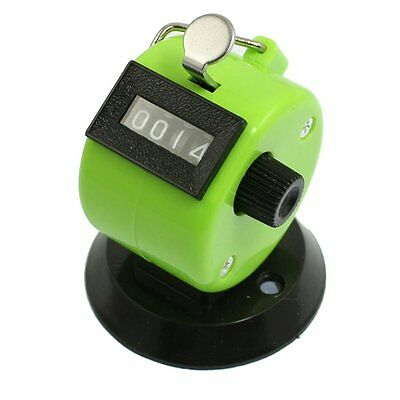 Golf Pitch Count 4 Digit Number Clicker Portable Tally Counter Apple Green CP