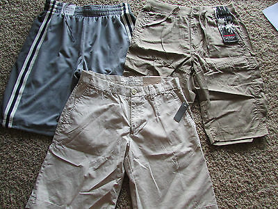 New Shorts Mens S Mens 28 Lot/3 Old Navy Aeropostale Unionbay Closeout!