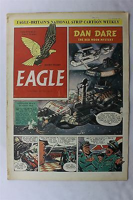 Eagle Vol 2 No 27 October 19th 1951 VG Vintage Comic Golden Dan Dare Cartoon