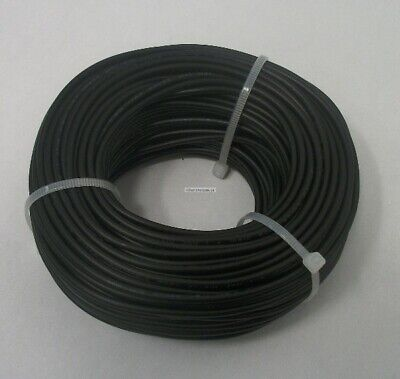 20 AWG tinned copper stranded hook up wire, 100 feet Black UL1007, project wire