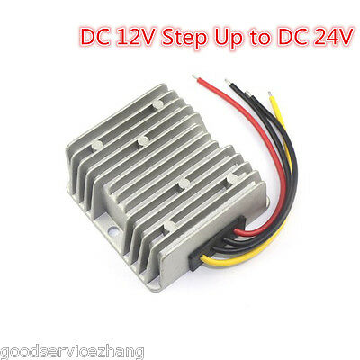 DC 12V Step Up to DC 24V 240W 10A Car Power Supply Converter Regulator Adaptor