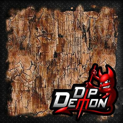 Adged Distressed Wood Woodgrain Hydrographic Water Transfer Film Hydro Dipping