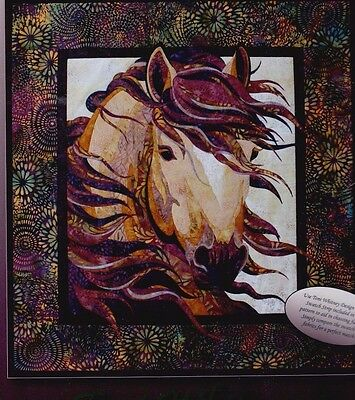 Summer Breeze - raw edge applique Horse wall quilt PATTERN - Toni Whitney