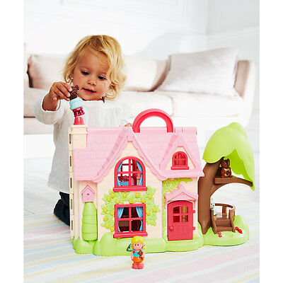 New ELC Boys and Girls Happyland Cherry Lane Cottage Toy From 2 years