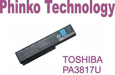 NEW Original Battery PA3817U-1BRS For Toshiba Satellite L655 C655 A665 C640