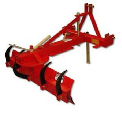 5 FOOT Farm Tractor 3 Point Grader Blade With Ripper Land Scape  PART NO FIGB5RB