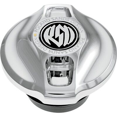 Fuel Gauge Cap Without LED Fuel Gauge Cafe - Chrome RSD 0210-2008-CH