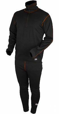 Eiger Arctic Underwear Set Black Thermounterwäsche 2-teilig Thermo Gr. XL