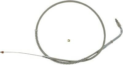 Stainless Clear-Coated Throttle Cable Barnett 102-30-30048