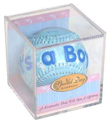 It's A Boy Baseball Birth Announcements Cards Keepsakes Party Bag Fillers Play