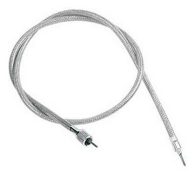 Front-Wheel Drive Speedometer Cable Drag Specialties Clear Coated 5390100B