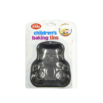 """We Can Cook"" Children's Baking Tin in Teddy Shapes by Royle Kids"