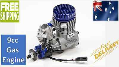 NGH GT9 9cc Gas Engine With Rcexl CDI Ignition RC Plane Car w/ accessories motor