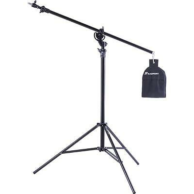 Flashpoint Pro Air Cushioned Heavy Duty Boom Light Stand - 13' #FP-SB-13