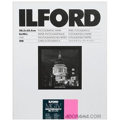 Ilford IV RC Deluxe Resin B/W Paper 8x10in, 100, Glossy #1770340