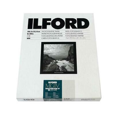 Ilford IV RC Deluxe Resin B/W Paper 8x10in, 100, Pearl #1771318