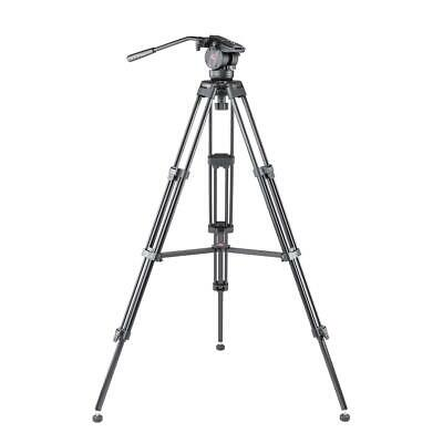 3Pod V3AH Aluminum Tripod with QR 2-Way Pan Head - Black #3P-V3AH