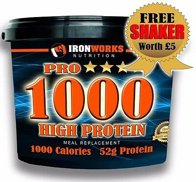 (Z) 4kg PRO1000 MASS WEIGHT GAIN, WHEY PROTEIN, MUSCLE BUILDING, SHAKE
