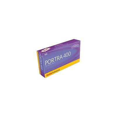 Kodak Portra 400 Color Neg Film 120mm 5pk USA 8331506