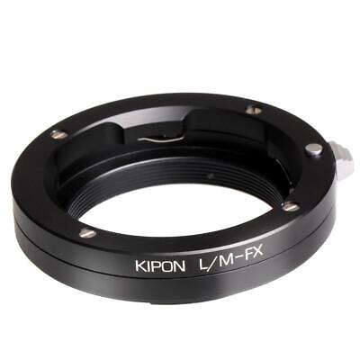 Kipon Leica M Lens to Fuji X Series Mirrorless Camera Lens Adapter #KPLAFJXLCM