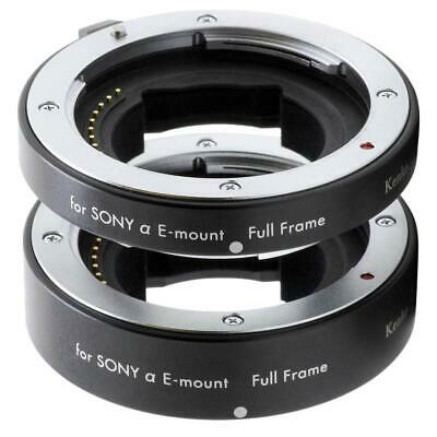 Kenko DG Extension Tube Set for Full-Frame Sony E-mount #A-EXTUBEDG-SEF
