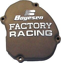 Factory Ignition Cover Boyesen Magnesium SC-12AM for Kawasaki KX250 2005-2007