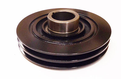 Crankshaft Pulley For Toyota Landcruiser HDJ80 / HDJ81 4.2TD 12V 1HDT 1/90-1/95