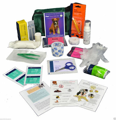 Pet Dog Puppy First Aid Kit Basic or comprehensive ideal for walking travelling