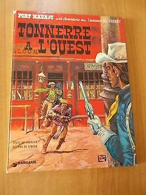 Charlier e Giraud LIEUTENANT BLUEBERRY - TONNERRE A L'OUEST Dargaud 1975