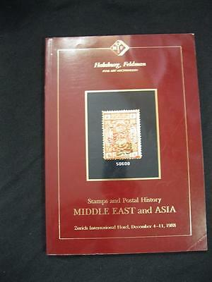 David Feldman Auction Catalogue 1988 Middle East & Asia