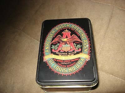 Budweiser Classic Playing Cards  In Tin