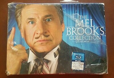 The Mel Brooks Collection (Blu-ray Disc, 2009, 9-Disc Set)