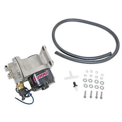 Summit Racing Vacuum Pump Electric Street Black 12 V Includes Vacuum Line Kit