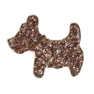 Home Button Sticker - Dog Shape with Bling Rhinestone for Samsung Galaxy S3 CP