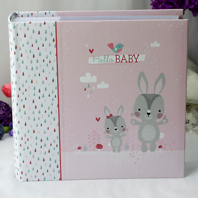 Baby Girl Photo Album - Forest Friends | Newborn | Baby Shower | Keepsake
