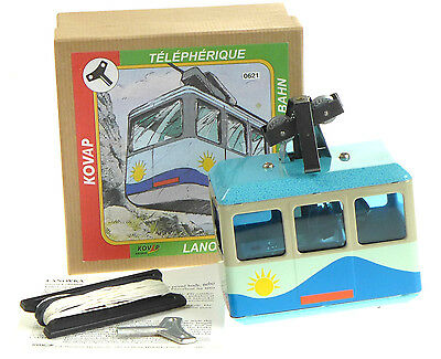Working Cable Car Ski Lift Clockwork Toy  Kovap Hand Made Euro Tintoy