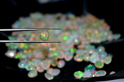 1.00 Ct 100% Natural Untreated Ethiopian Welo Fire Opal Oval Stone Free Shipping