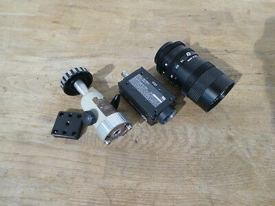 Sony CCD XC-75CE Camera mit VT TV C-MOUNT ZOOM LENS  JAPAN