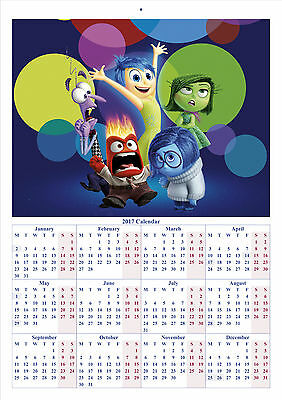 Inside Out - 2017 A4 CALENDAR **BUY ANY 1 AND GET 1 FREE OFFER**