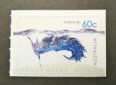Australian Decimal Stamps: 2012 Underwater World - Single Peel & Stick MNH