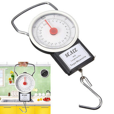 Metal/Plastic Portable Spring Balance Scale Hanging Suitcase Hook Hight Quality