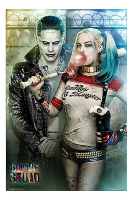 Suicide Squad Joker And Harley Quinn Poster New - Maxi Size 36 x 24 Inch