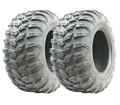 2pcs 25x10.00R12  Wanda ATV high speed road legal tyre