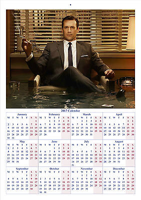 Mad Men - 2017 A4 CALENDAR **BUY ANY 1 AND GET 1 FREE OFFER**