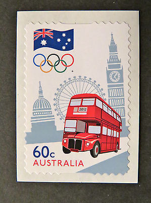 Australian Decimal Stamps: 2012 Olympic Games-The Road to London-Single P&S MNH